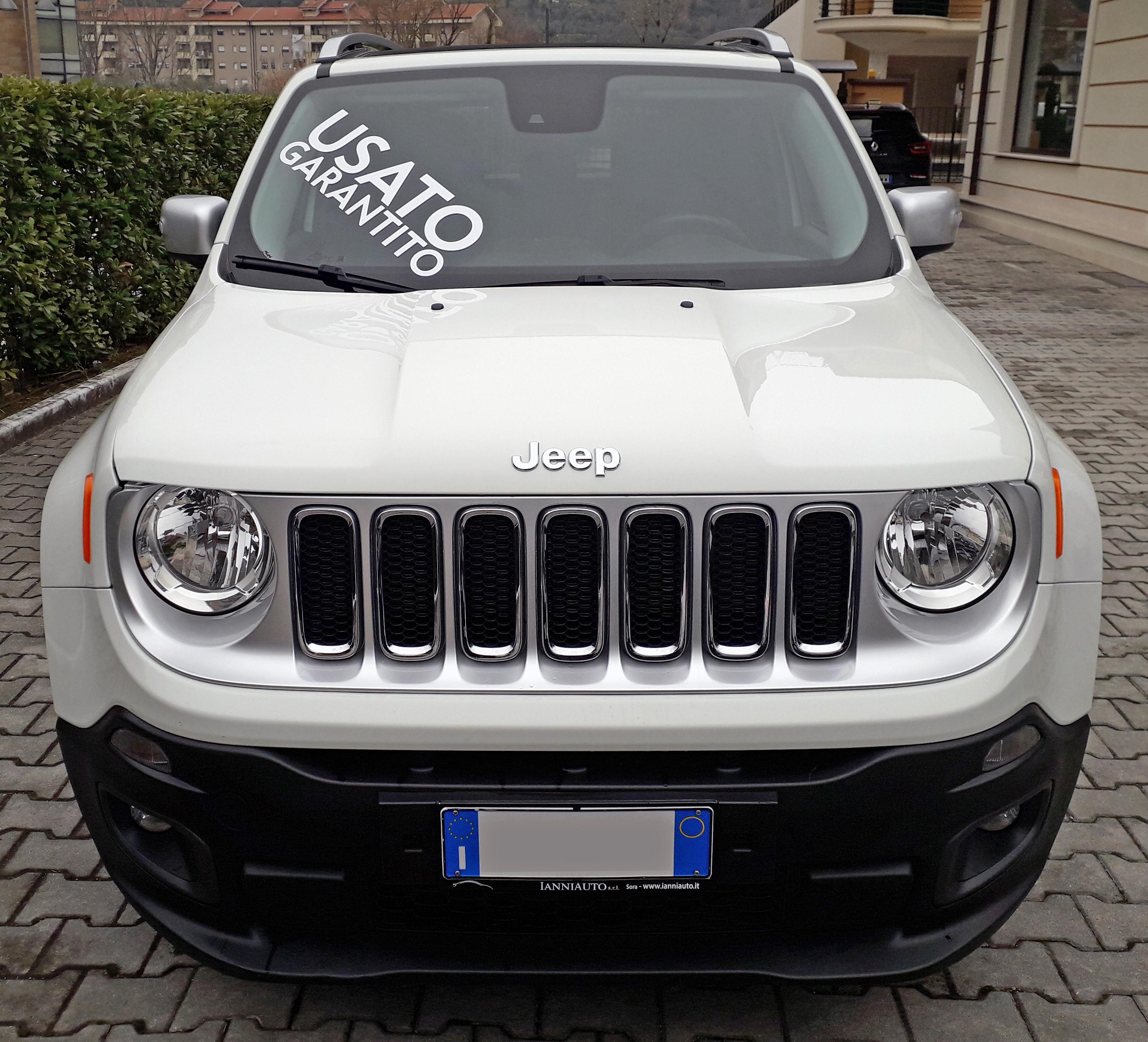 jeep renegade 1 6 multijet 120 cv limited